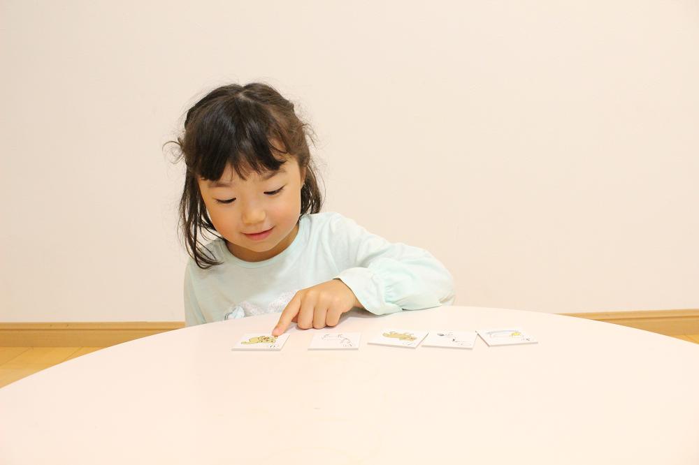 七田式通信教育幼児コース右脳イメージ