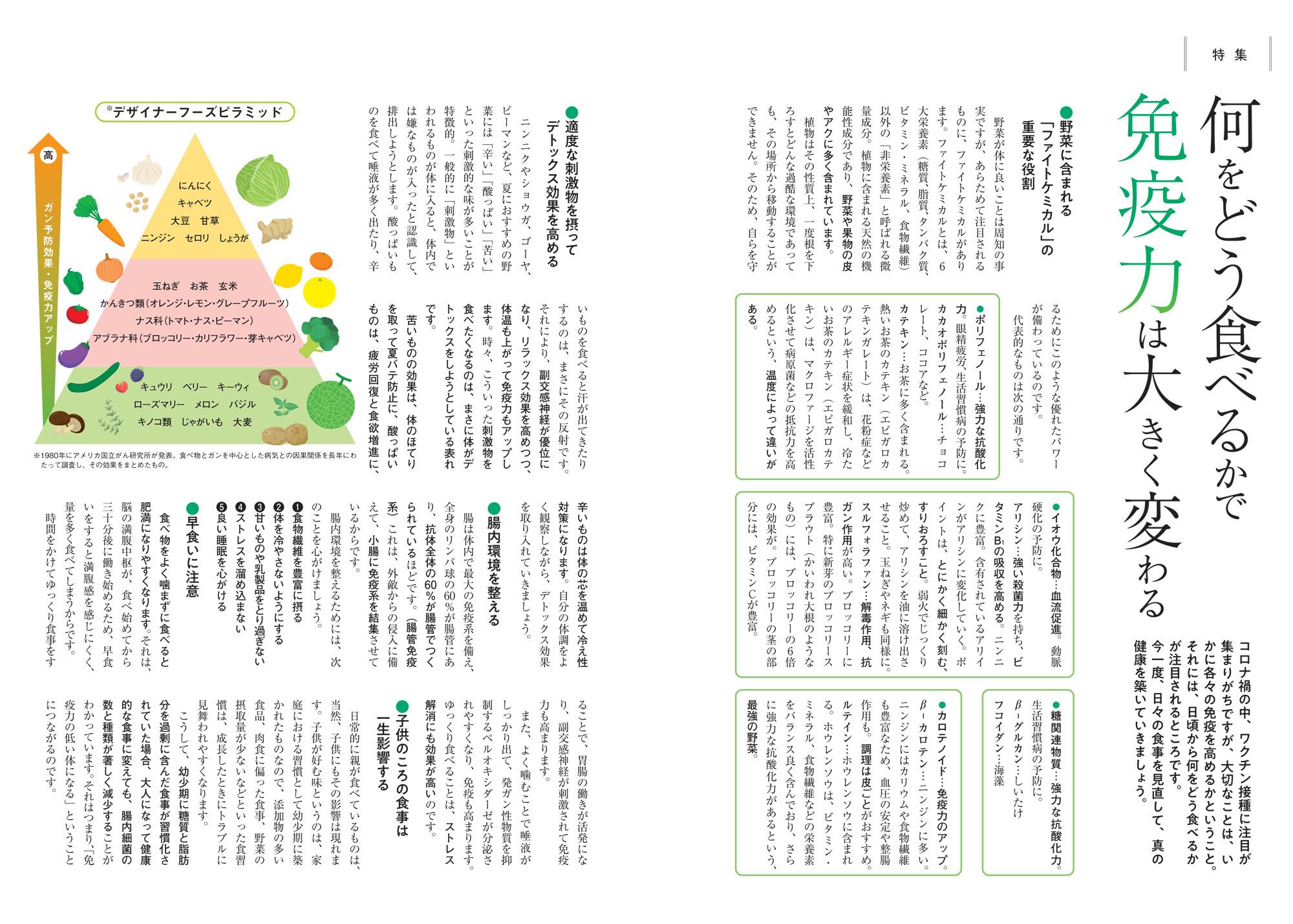 特集・栄養学など「七田式食学」について